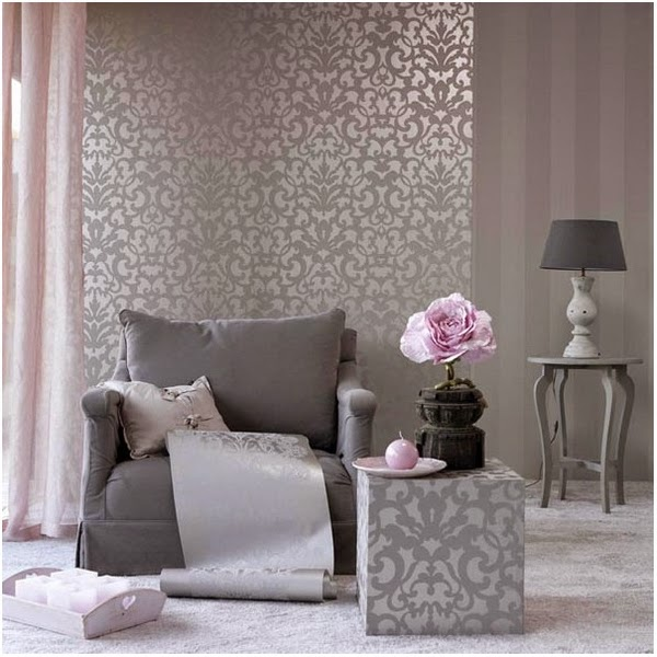 Mira como cambian tus ambientes con solo un poco de - Papel pintado para pared ...