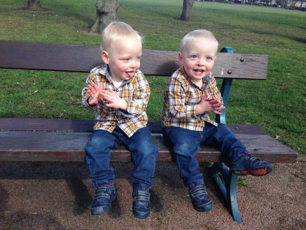 Resultado de imagen para gemelos Lucas y Louie