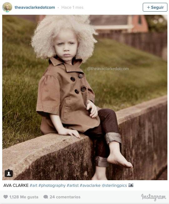 la pequena albina negra 4