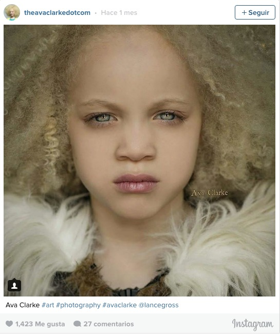 la pequena albina negra 8