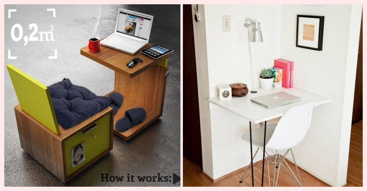 20 ideas geniales para hacer tu propia oficina en casa y - 20 ideas geniales para organizar tu casa ...