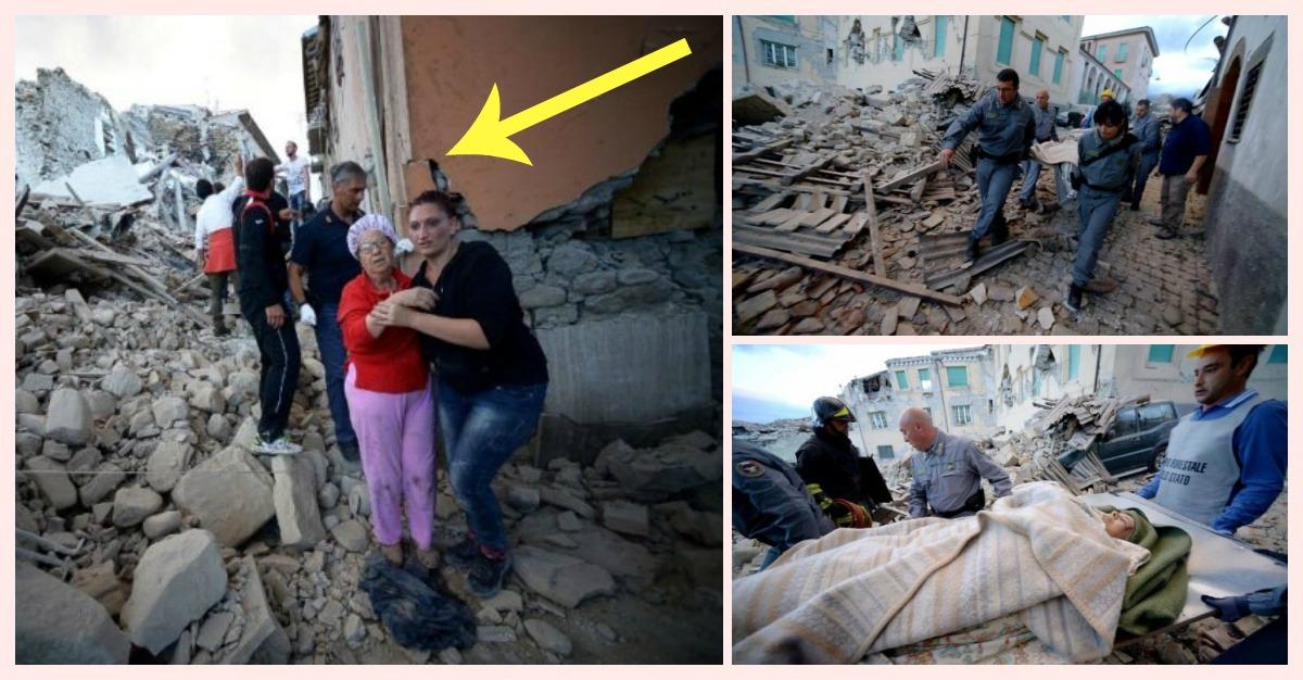 italia amaneciendo tras terremoto portada